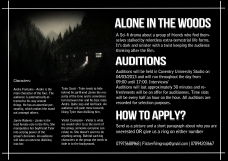 Actor audition
